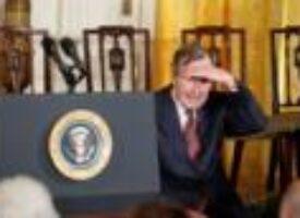 Ex-President George H.W. Bush blasts Cheney, Rumsfeld